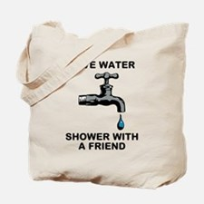 Shower With Friend Tote Bag
