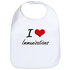 I Love Immunizations Bib