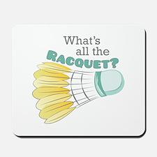 The Racquet Mousepad