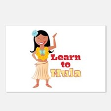 Learn To Hula Postcards (Package of 8)