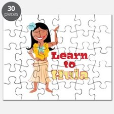Learn To Hula Puzzle