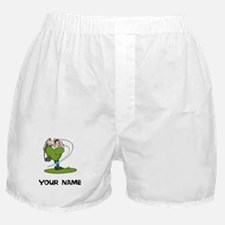 Cartoon Golfer Boxer Shorts