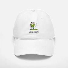 Cartoon Golfer Baseball Baseball Baseball Cap