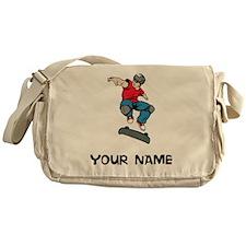 Skateboarder Messenger Bag