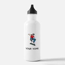 Skateboarder Water Bottle