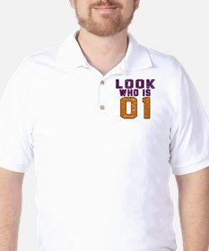Look Who Is 01 Golf Shirt