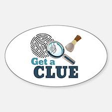 Get A Clue Decal