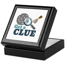 Get A Clue Keepsake Box