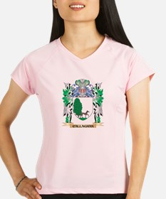 Callaghan Coat of Arms - F Performance Dry T-Shirt
