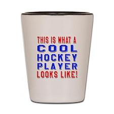 Hockey Player Looks Like Shot Glass