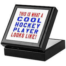 Hockey Player Looks Like Keepsake Box