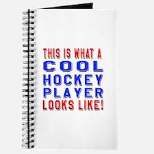 Hockey Player Looks Like Journal