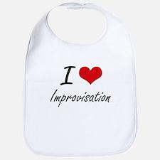 I Love Improvisation Bib
