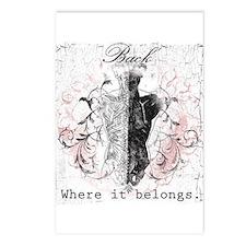 Back Where it Belongs Postcards (Package of 8)