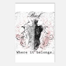 Back Where it Belongs Postcards (Package of 8)