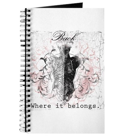 Back Where it Belongs Journal