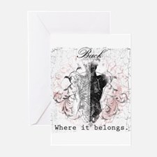 Back Where it Belongs Greeting Cards (Pk of 20)