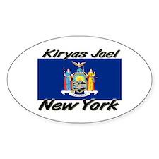 Kiryas Joel New York Oval Decal