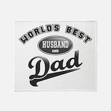 Best Husband/Dad Throw Blanket