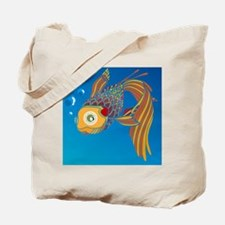 My colorful fish Tote Bag