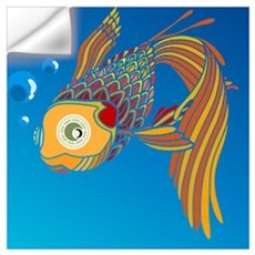 My colorful fish Wall Decal