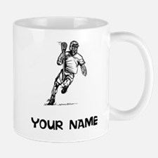 Lacrosse Player Mugs