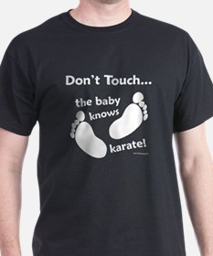 Karate Baby White T-Shirt