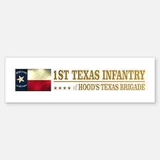 1st Texas Infantry (BH2) Bumper Bumper Bumper Sticker