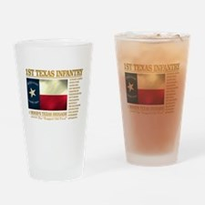 1st Texas Infantry (BH2) Drinking Glass