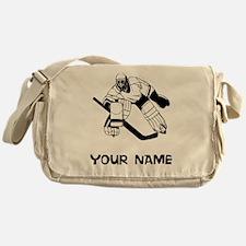 Hockey Goalie Messenger Bag