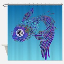 My colorful fish Shower Curtain