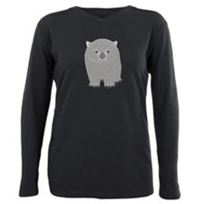 Wombat Plus Size Long Sleeve Tee