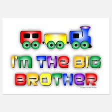 Big Bro Train 5x7 Flat Cards