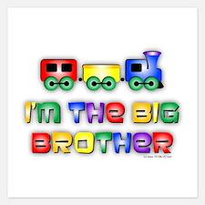 Big Bro Train Invitations
