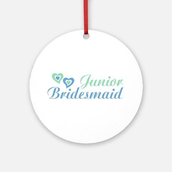 Junior Bridesmaid Ornament (Round)