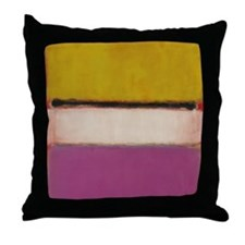 ROTHKO PINK ORANGE Throw Pillow