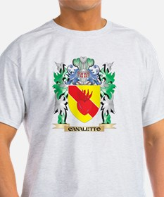 Canaletto Coat of Arms - Family Crest T-Shirt
