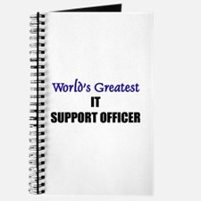 Worlds Greatest IT SUPPORT OFFICER Journal