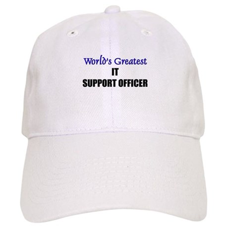 Worlds Greatest IT SUPPORT OFFICER Cap