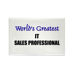 Worlds Greatest IT SALES PROFESSIONAL Rectangle Ma