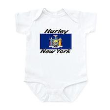 Hurley New York Infant Bodysuit