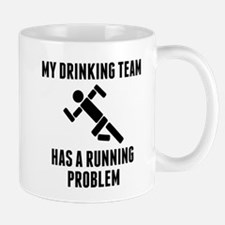 Drinking Team Running Problem Mugs
