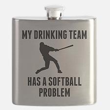Drinking Team Softball Problem Flask