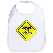 Quads on Board Bib