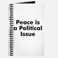 Peace is a Political Issue Journal