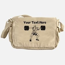 Weightlifter Messenger Bag