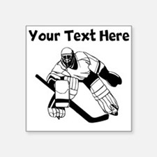 Hockey Goalie Sticker