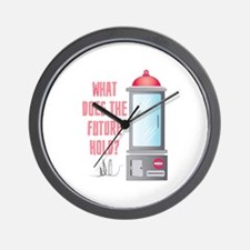 The Future Hold Wall Clock