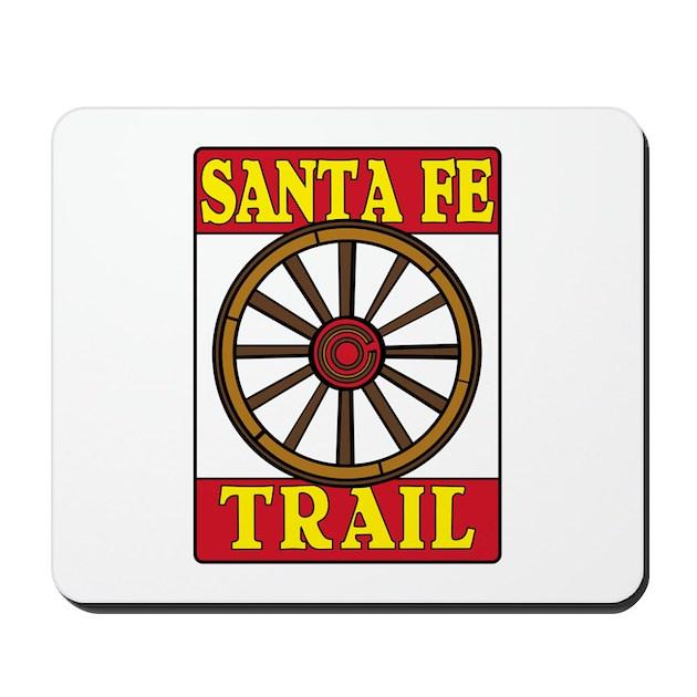 Eyeglass Frames Santa Fe Nm : Santa Fe Trail, New Mexico Mousepad by worldofsigns2