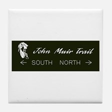 John Muir Trail, California Tile Coaster